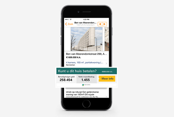 Beveiligd: ABN AMRO hypotheek- concept