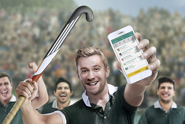 ABN Amro – Mobiel Bankieren – Hockey