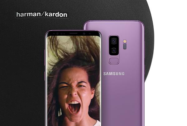 Samsung – Galaxy S9 + Harman Kardon speaker