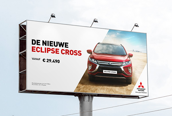 Mitsubishi – Eclipse Cross – Billboard
