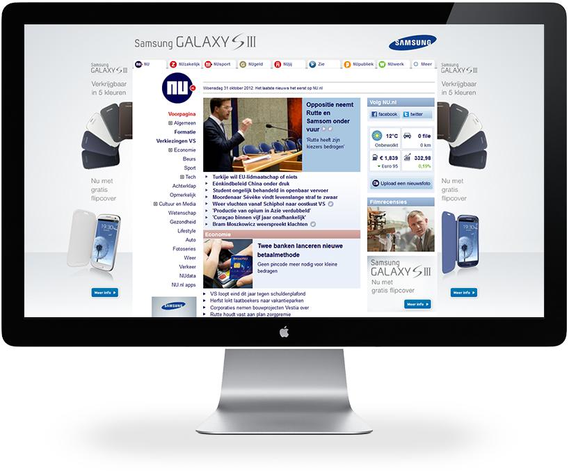 Samsung NU.NL takeover